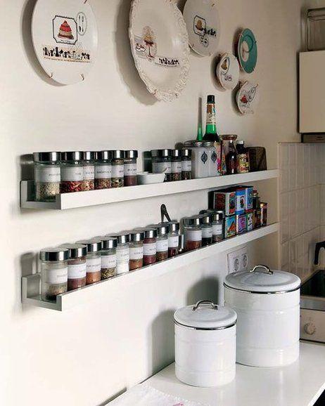 Ideas sencillas para actualizar tu cocina ikea for Estantes para cocina pequena