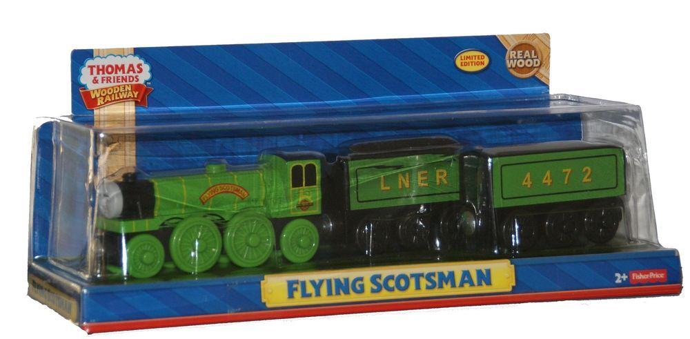 Flying Scotsman Thomas Tank Engine Wooden Railway New In Box