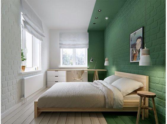Fotos de paredes pintadas con efecto óptico, diseños orinales y