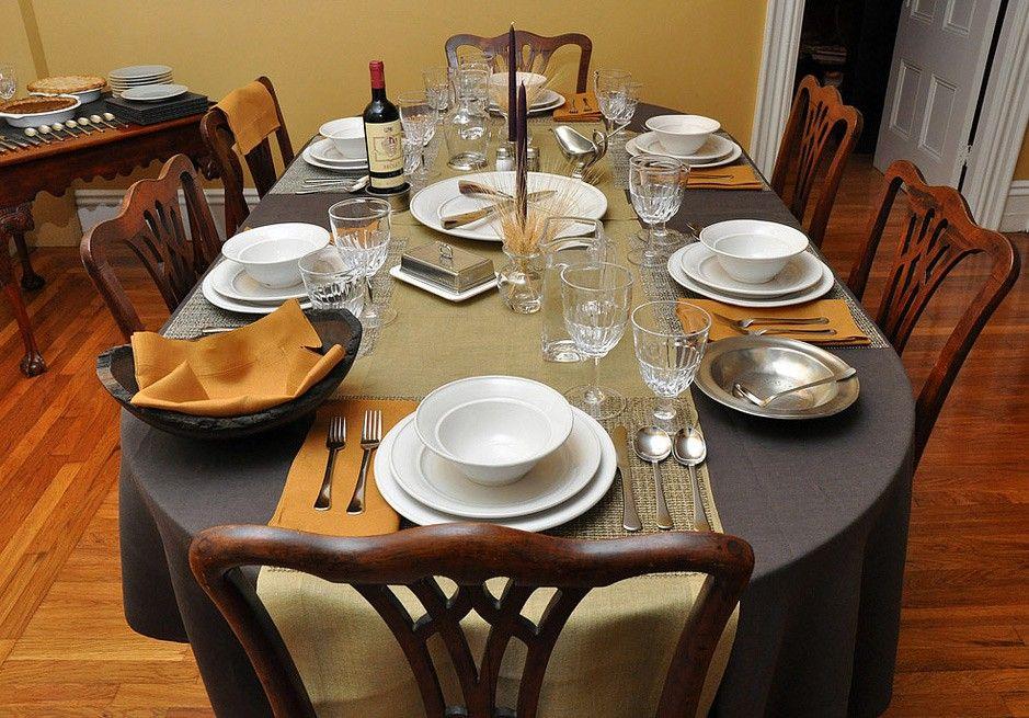Elegent Dinner Party Deas Table Setting Mis En Place Dinner
