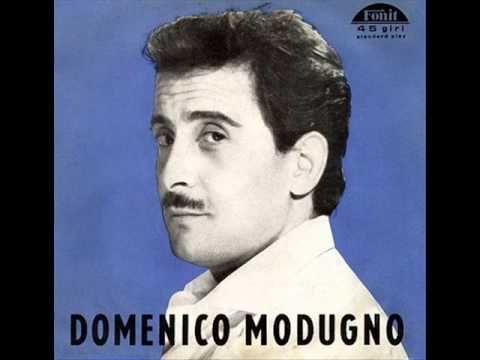 Domenico Modugno Nel Blu Dipinto Di Blu Volare Sanremo 1958