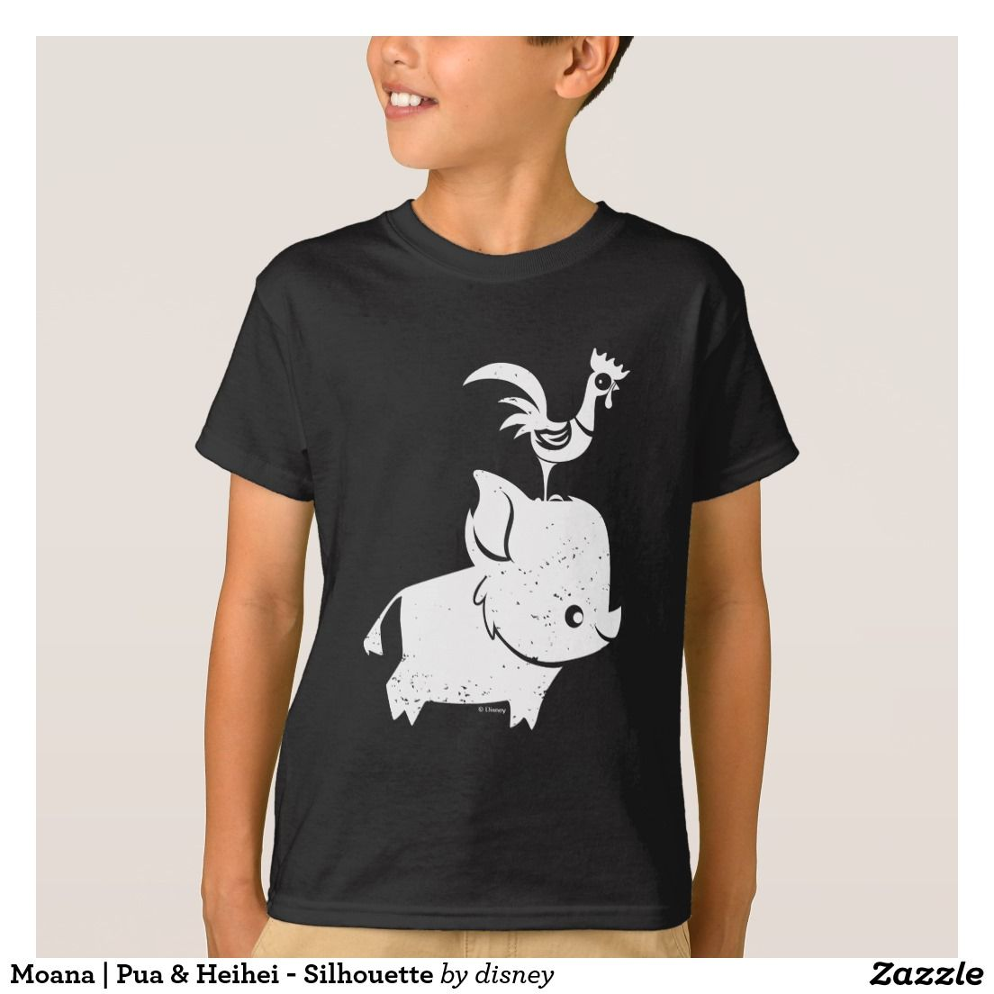 2c083a505 Moana | Pua & Heihei - Silhouette T-Shirt | Zazzle.com | Mom and ...