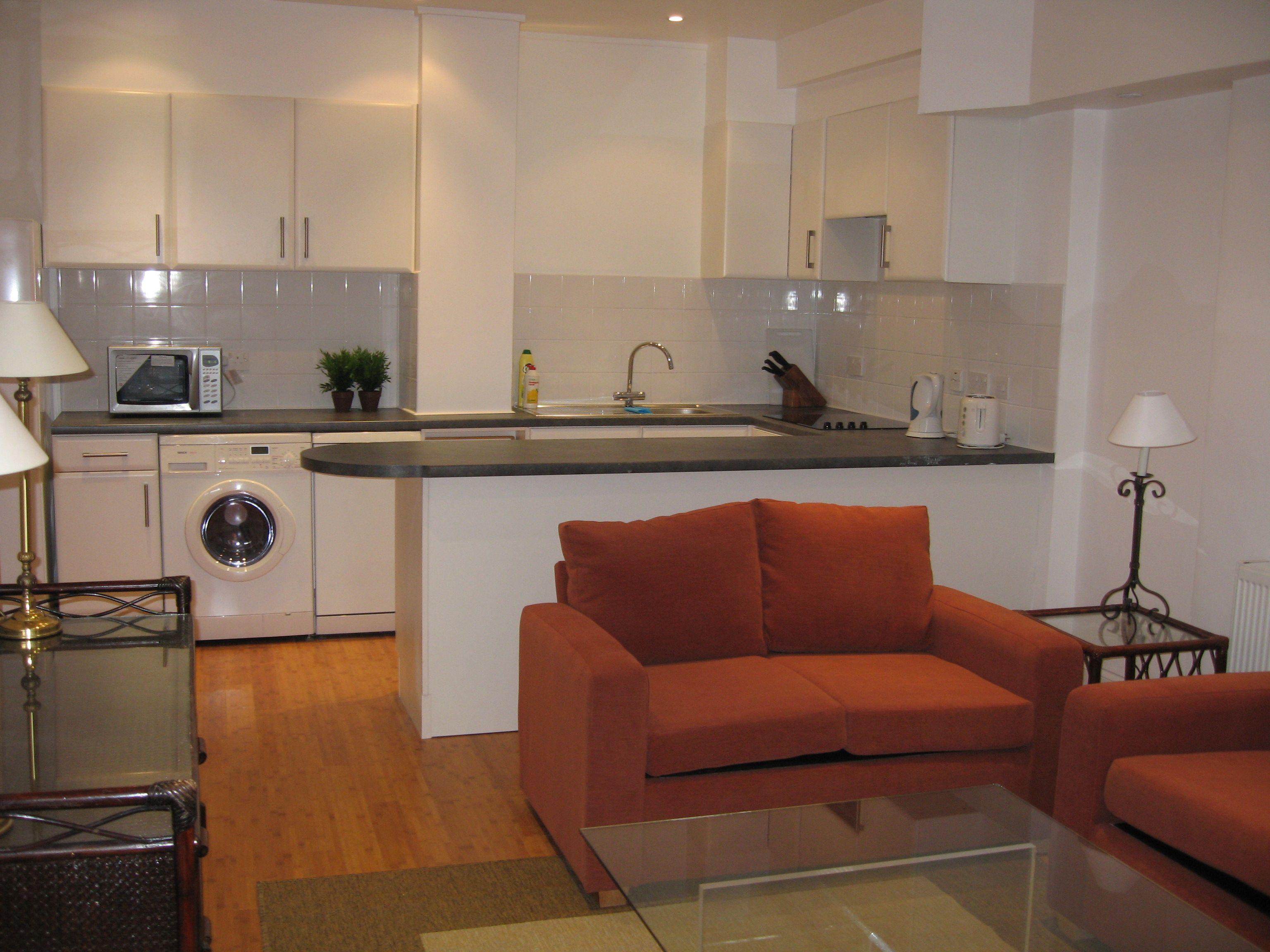 Open Small Kitchen Living Room Combo Novocom Top