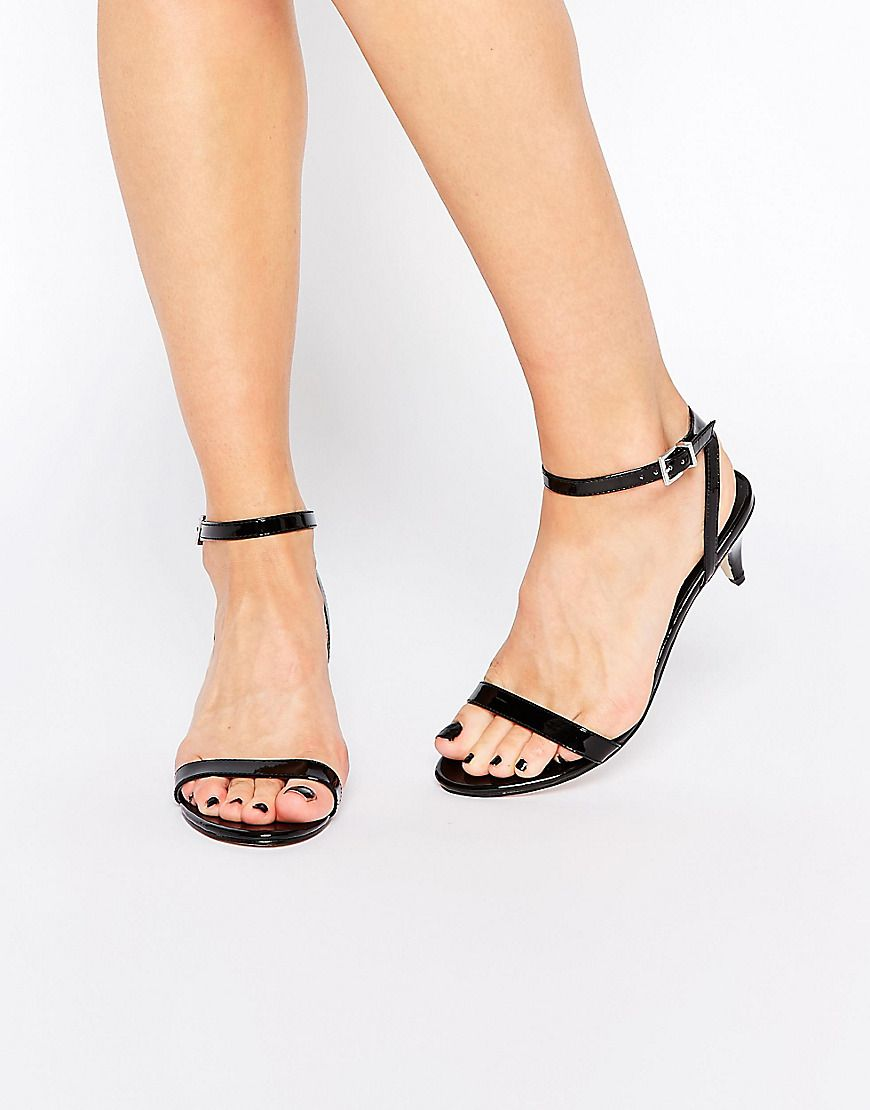 7333014a9b26 ALSO YES - ASOS HONEYDEW Heeled Sandals Shoes Heels