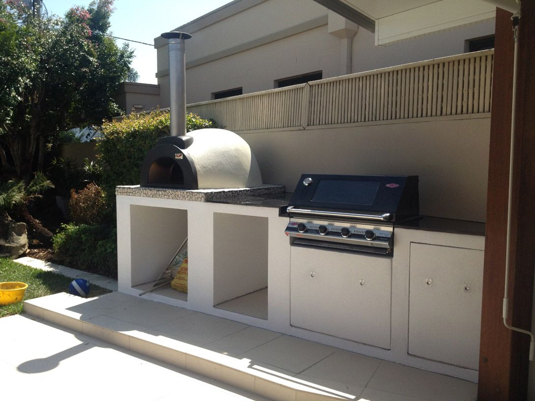 alfresco kitchens woodfired pizza ovens qld allfresco modern outdoor pizza ovens on outdoor kitchen queensland id=48820