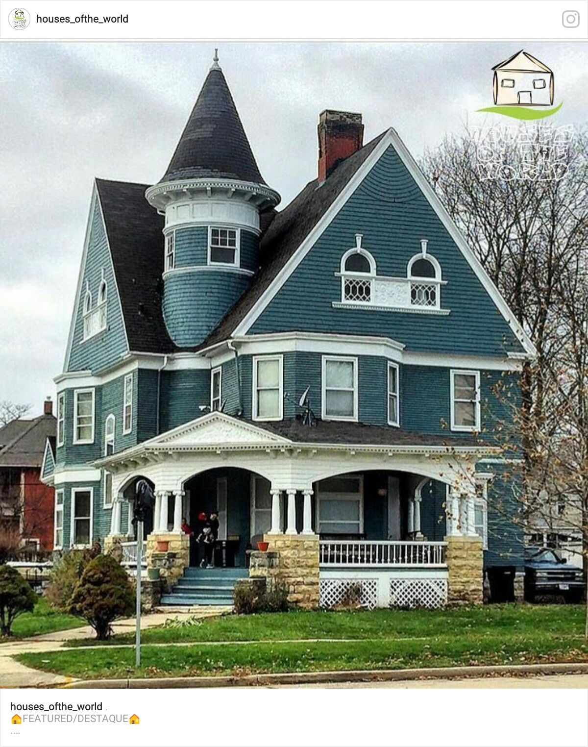 A Beautiful Victorian Home Victorian House Colors Victorian Homes Victorian Style Homes