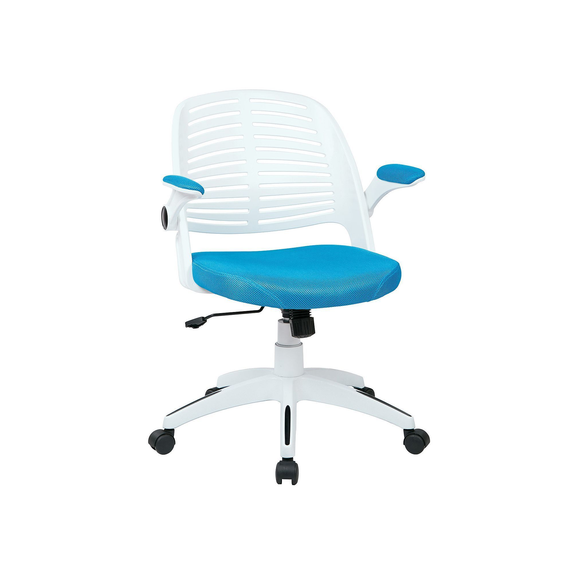 Ave six white frame tyler office chair mesh office chair