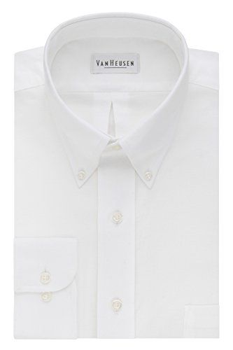 9015b2aff52 Van Heusen Mens Dress Shirts Regular Fit Oxford Solid Buttondown Collar   shirts  dress  mensshirt  clothing  fashion  formalshirt