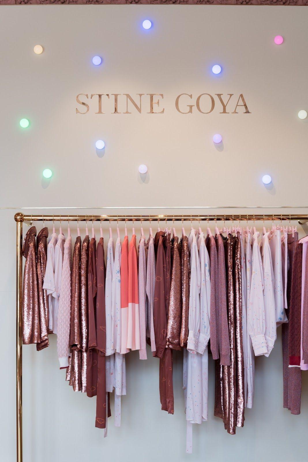 Flagship store for Stine Goya Studio @stinegoyastudio #retaildesign #storedesign #interiordesign #design #danishdesign #copenhagen #stinegoya #fashion
