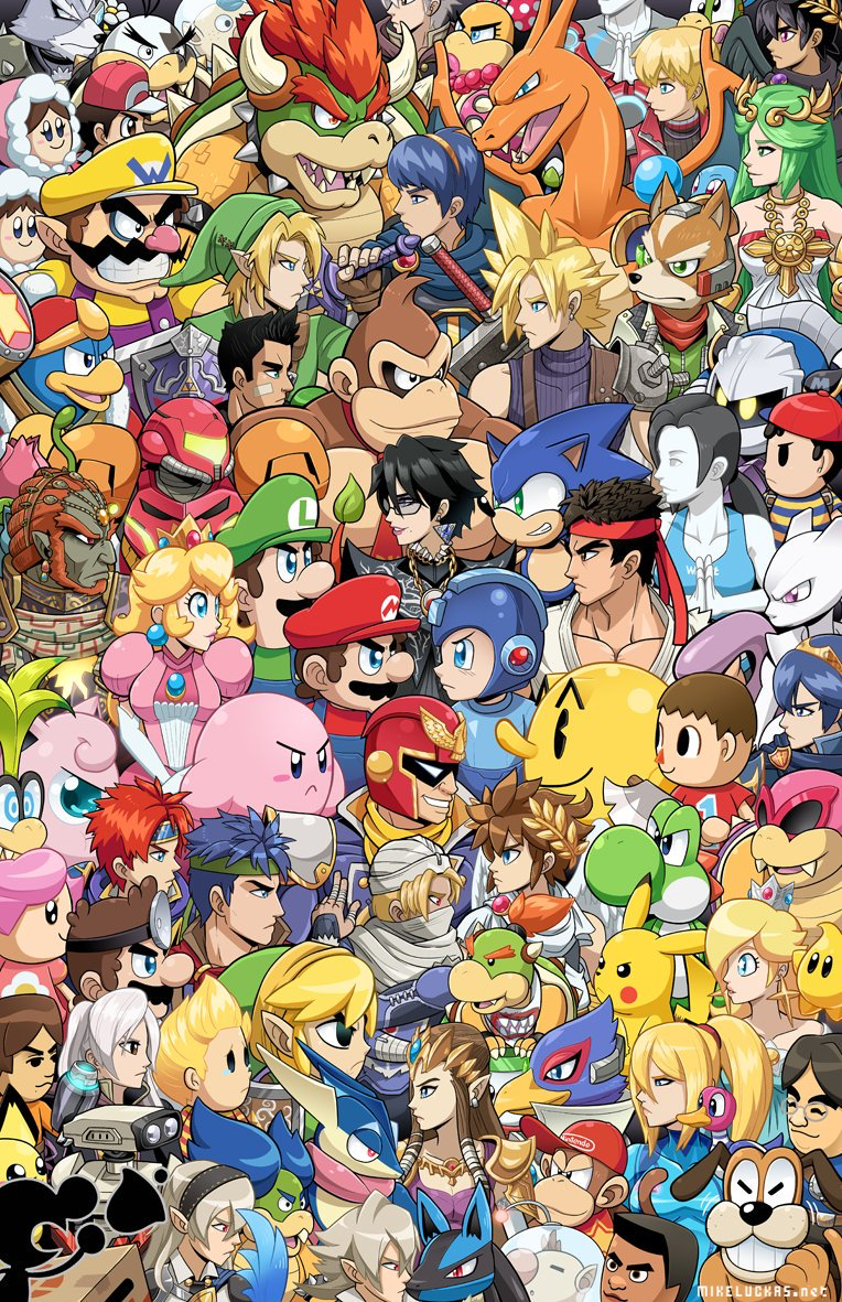Epingle Par Kenny Castle Sur Wallpapers Image Jeux Smash Bros