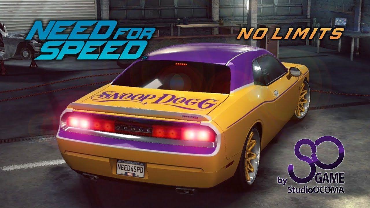 New Car Dodge Challenger Srt8 Snoop Dogg Nfs No Limits Video