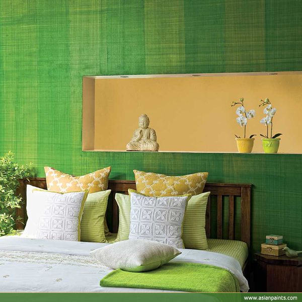Rattan Bedroom Sets Asian Paints Bedroom Colours Combination Bedroom Renovation French Style Bedroom Chairs: #Refreshing #green #decor #Bedroom #texture #Decorgasm