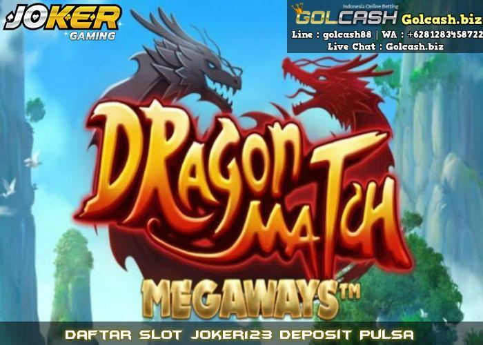 Daftar Slot Joker123 Deposit Pulsa | GOLCASH
