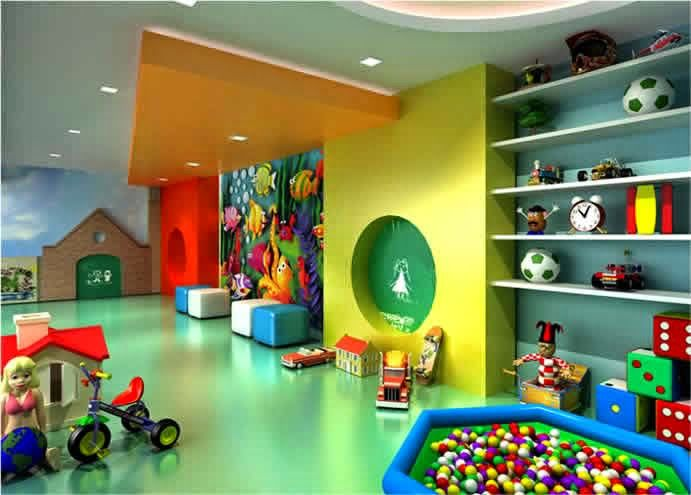 Contemporary Toy Stores With Stunning Interiors: Colorful Play Floor For  Kids In New Toy Store Interior Design | Kidsu0027 Store | Pinterest |  Contemporary Toys ...