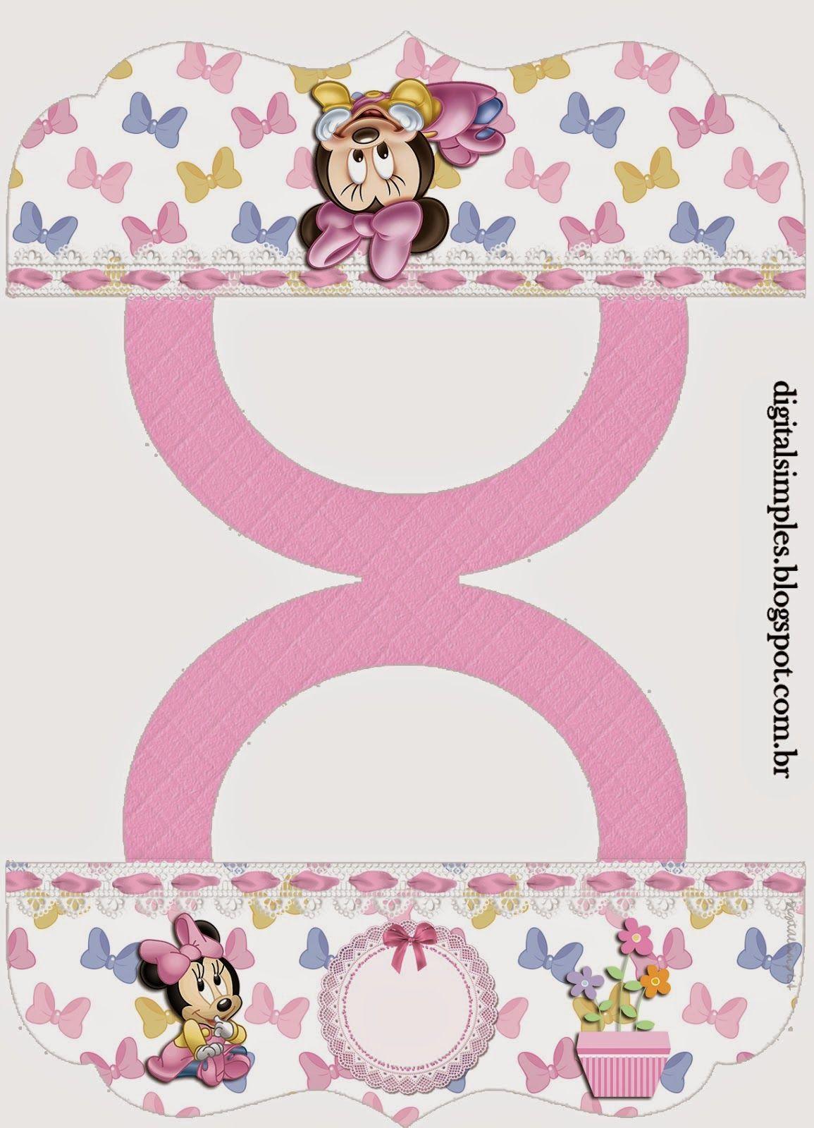 Minnie beb etiquetas para candy bar para imprimir gratis - Candy candy diva futura ...
