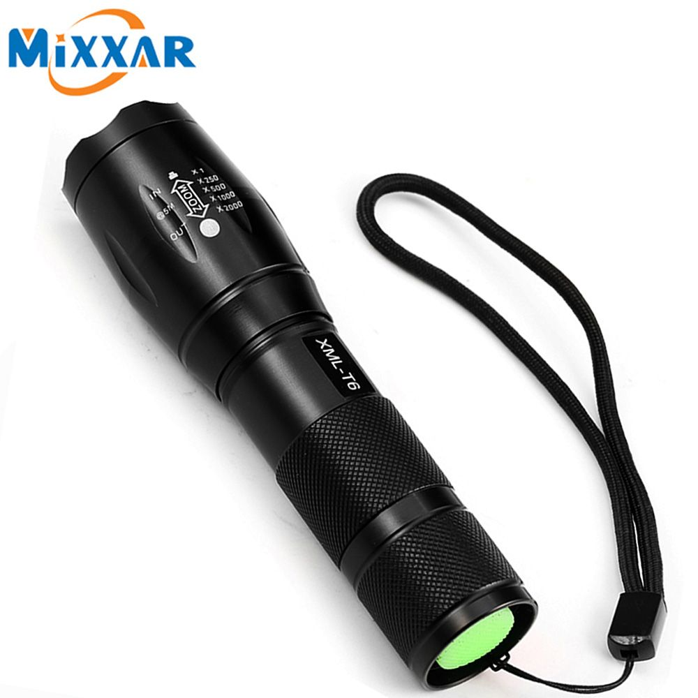 Led Lighting Enthusiastic 800lm Q5 3-mode Long Zoomable Led Tactical Flashlight Lamp Torch Self Defense Stick Flashlight Telescopic Baton Stick