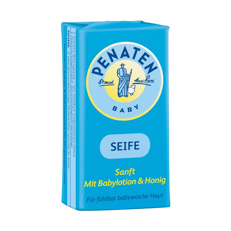 SEIFE - Für fühlbar babyweiche Haut. Mit Babylotion & Honig, sanfte Reinigung – für fühlbar babyweiche Haut, Hautverträglichkeit dermatologisch bestätigt.