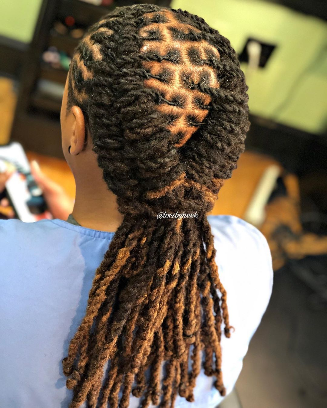 Loc Maintenance Bun Book Your Next Appointment With Neek Click The Lin Dread Hairstyles For Men Dreadlock Hairstyles Black Dreadlock Hairstyles For Men