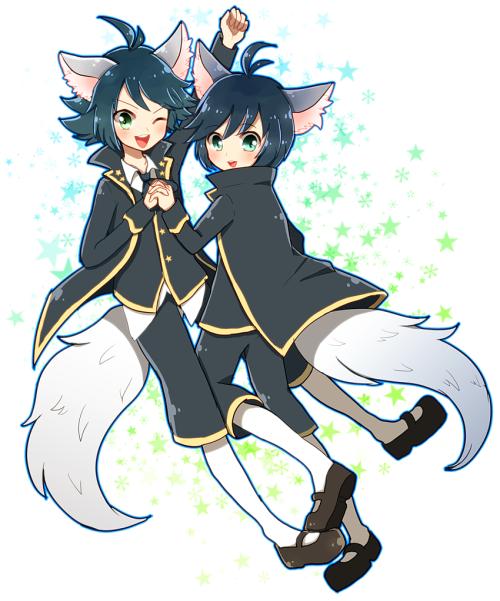 Show By Rock Trichronika Shuzo Recherche Google Anime Anime Neko Neko Cat