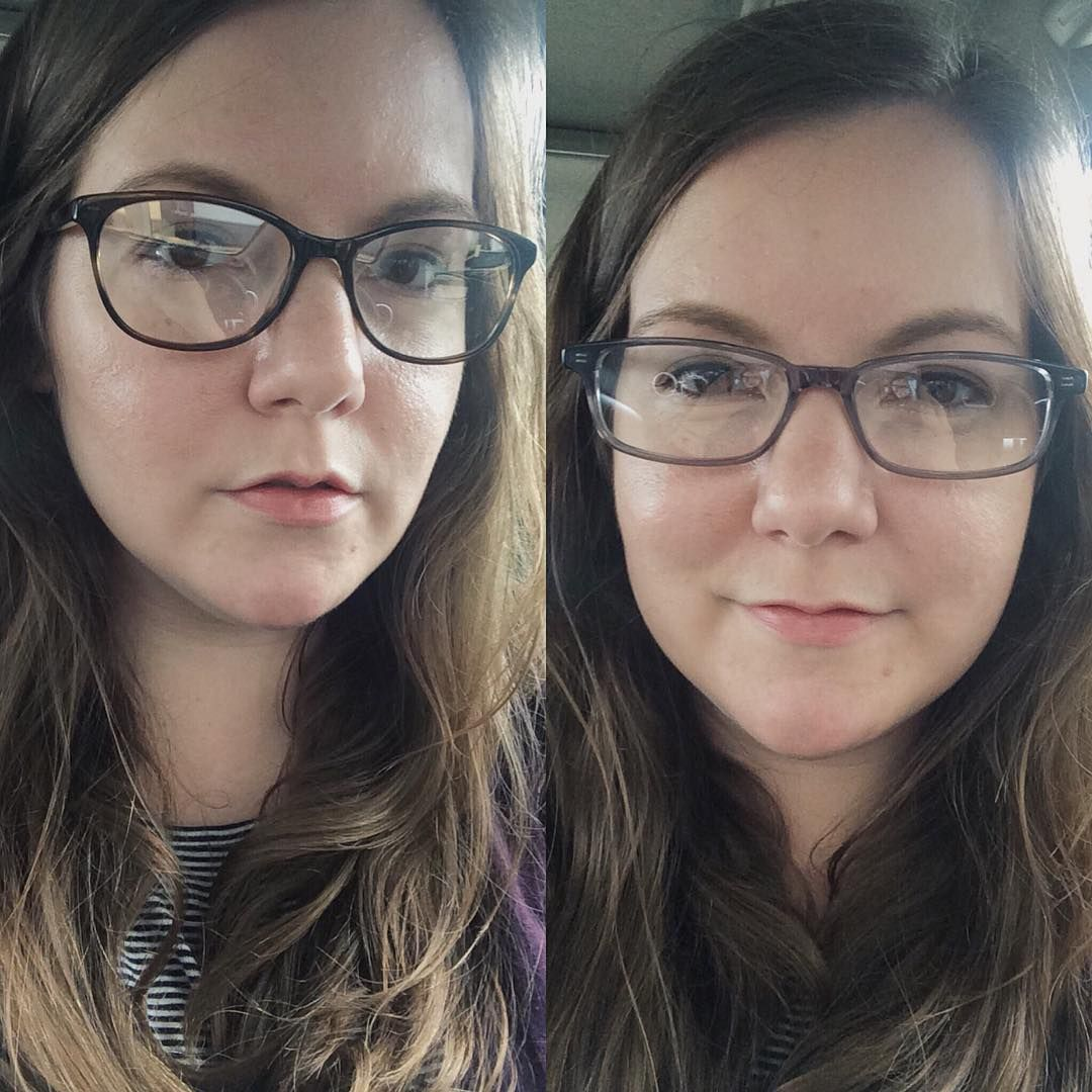 Daisy left new glasses warby warby parker