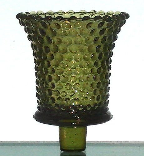 "1-Votive~or~Small Pillar~Holder~Diamond~Pattern~2-3//4/""D x 2-3//4/""T~NEW LOW PRICE"