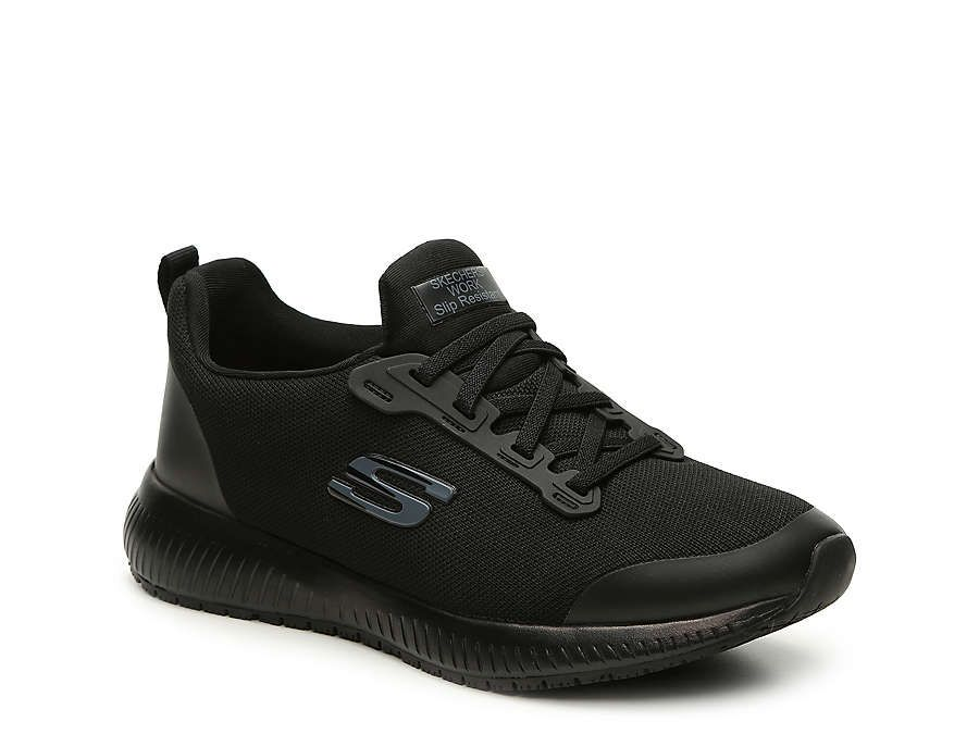 Skechers Relaxed Fit Squad Work Slip-On