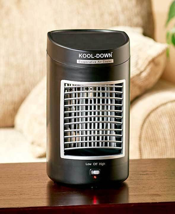 Water Air Cooler Portable Tabletop Fan Mini Air Cooler Air Conditioner Thebigdiscount