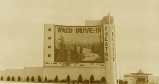 Old Photos Of Waco Tx Waco Drive In In Waco Tx Cinema