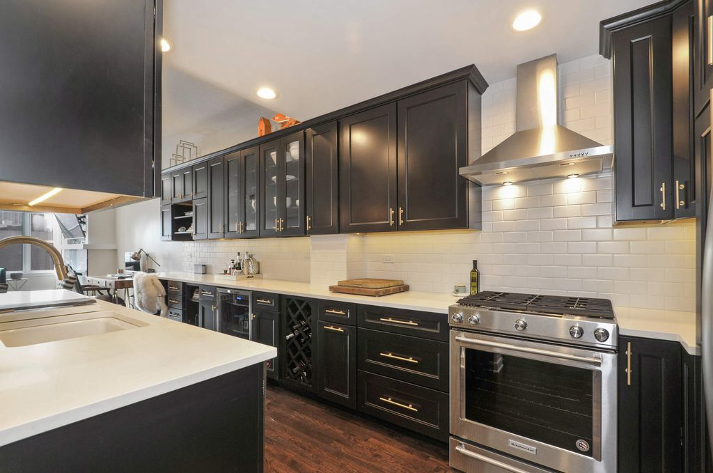black and white kitchen with gold hardware kitchen dining gold kitchen hardware kitchen on kitchen remodel gold hardware id=39883