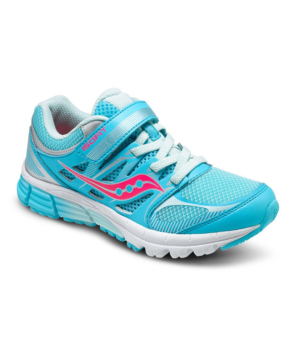 Saucony Zealot Girls (Turquoise/Silver/Coral), TURQUOISE SILVER CORAL