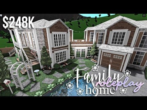 Family Roleplay Home | Roblox Bloxburg | GamingwithV ...
