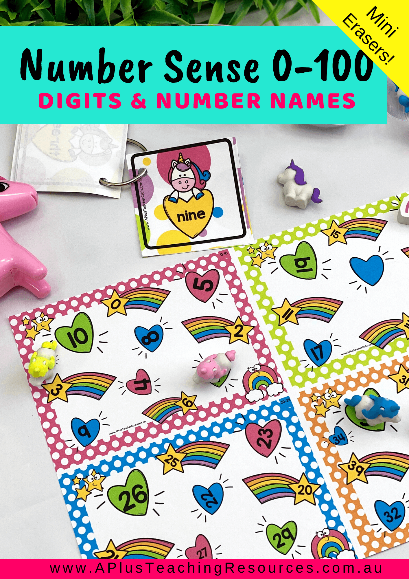 Our Numbers Recognition Flip Amp Cover Number Sense Games 0