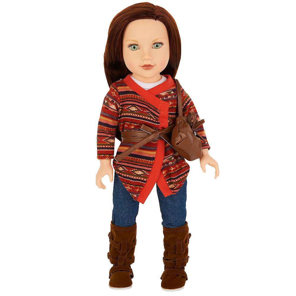 Toys R Us Journey Girls : Journey girls inch soft bodied doll kelsey tribal