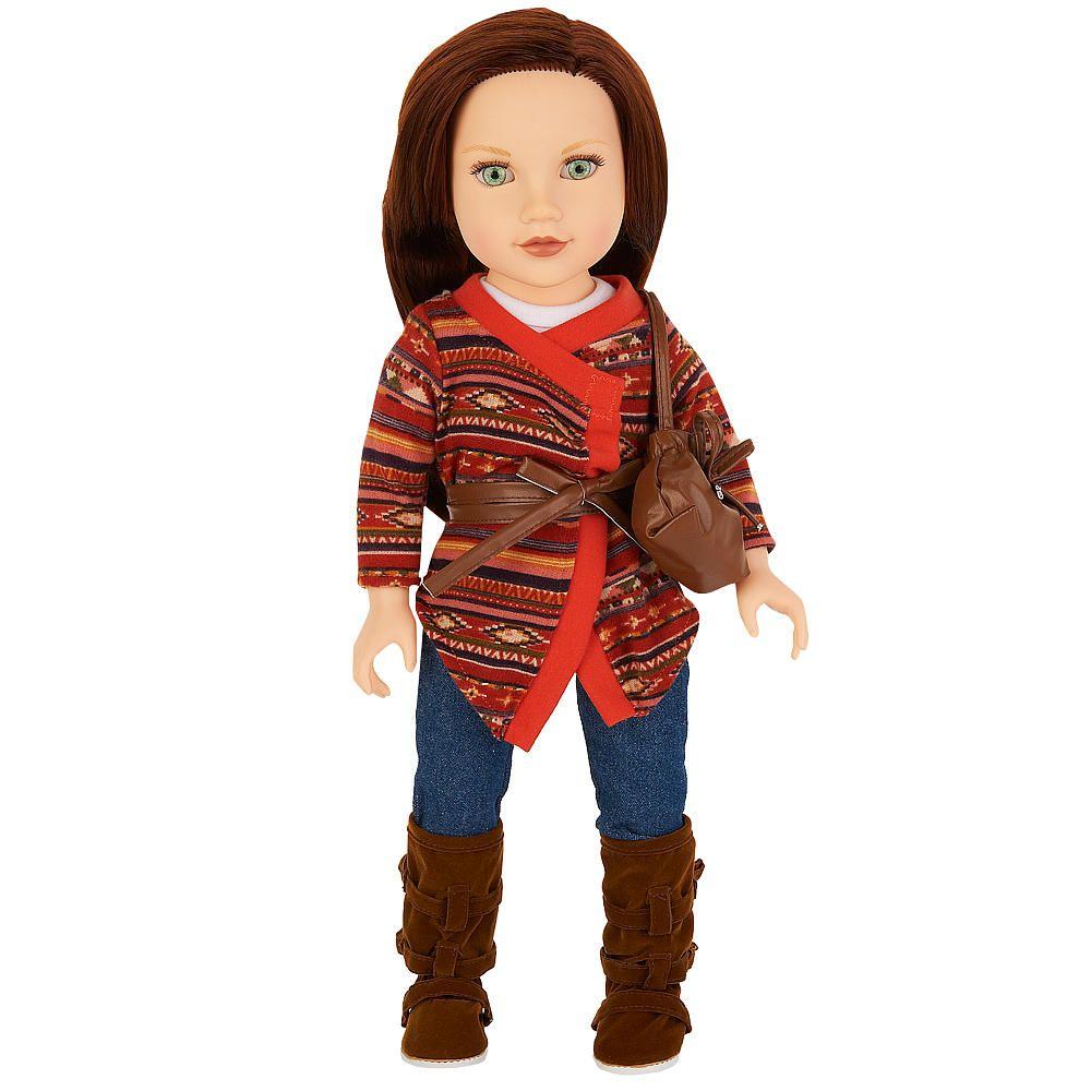 Toys R Us Journey Girls : Journey girls inch soft bodied doll kelsey tribal