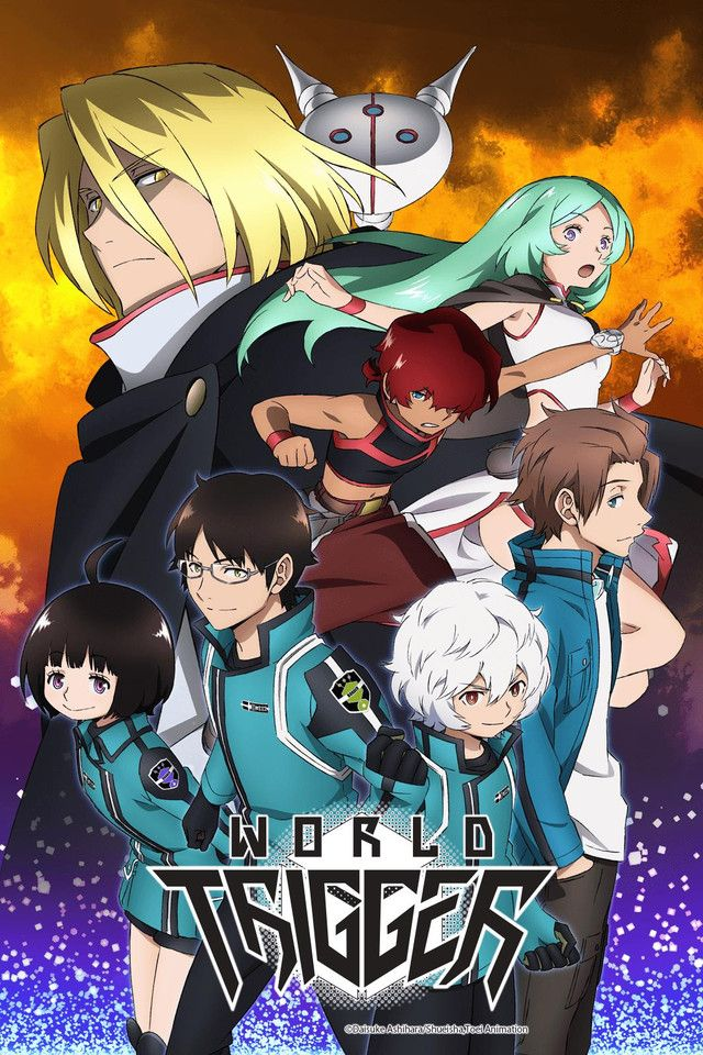 World Trigger Season 2 Anime Anime titles, Anime