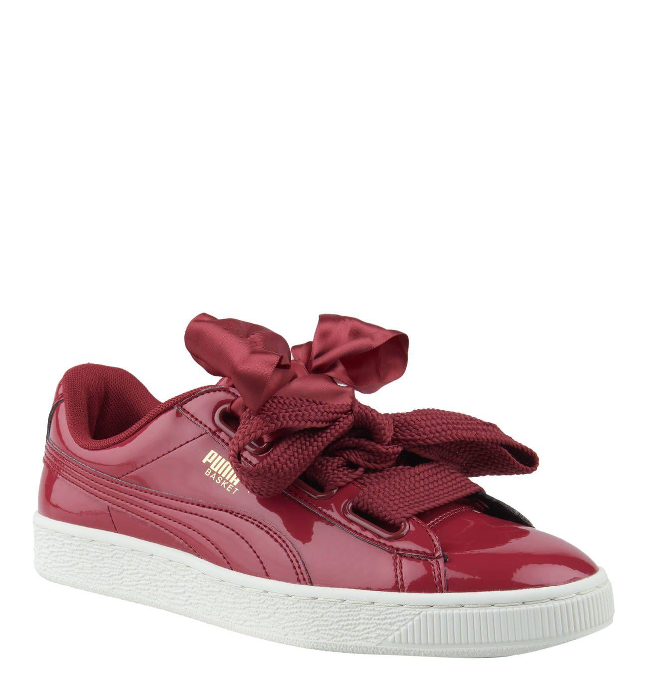 Diese coolen PUMA Sneaker mit auffälliger Zier Schleifen und