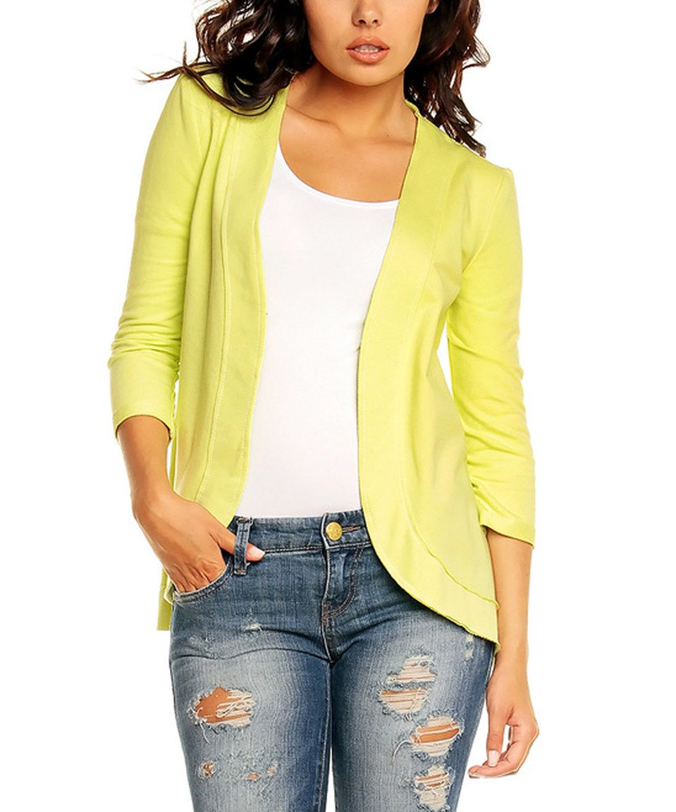 Another great find on #zulily! Nommo Limon Open Jacket by Nommo #zulilyfinds