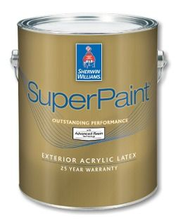 Painting The Vinyl Skirting To Match The House Superpaint Exterior Acrylic Latex Paint