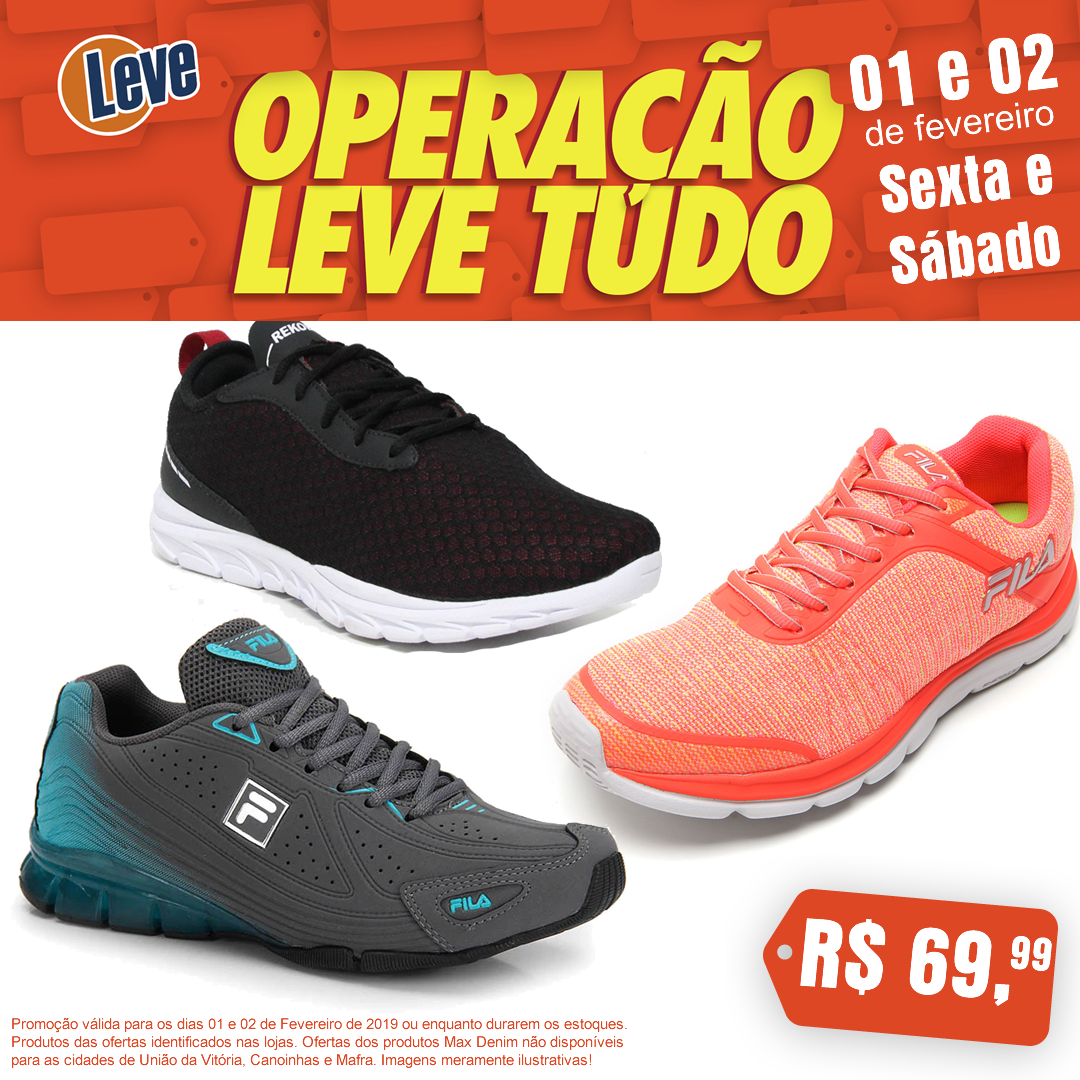 f22bc43e1 👟 A LEVE Calçados também reservou umas ofertas incríveis de tênis ...