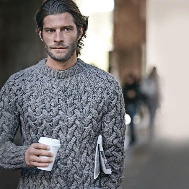 knit sweater #men #menfashion #fashion #mensfashion #manfashion #man #fashionformen