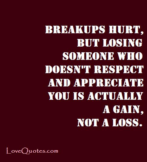 Why breakups hurt