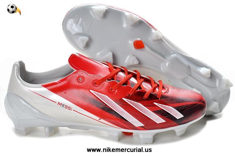 Adidas F50 Adizero Trx Fg Tpu Lea Bundle Red White For Sale Soccer Shoes Adidas Soccer Shoes Nike Soccer Shoes