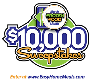 We Re Gearing Up For The 31st Annual March Frozen Food Month Enter The 10 000 Sweepstakes For A Chance To Win Cash Frozen Food Month Frozen Food Food Contest