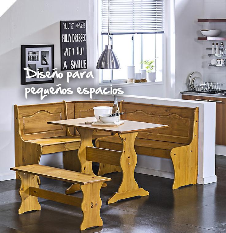 C modo y funcional si tienes un espacio reducido en tu - Fabricantes de mesas de cocina ...