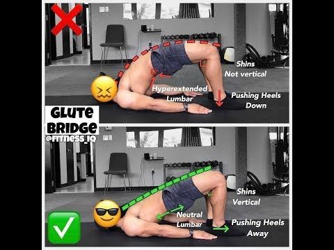 Comment GLUTE BRIDGE | Vidéos et guides d'exercices - weighteasyloss.com - Fitness ... - #Bridge #Co...