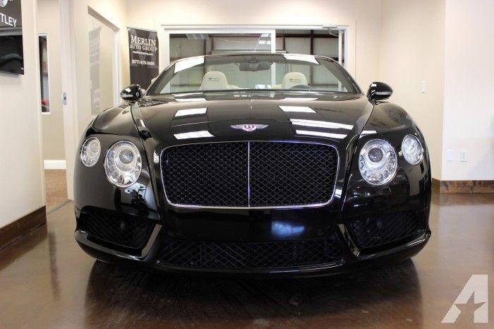 2013-Bentley-Continental GTC V8