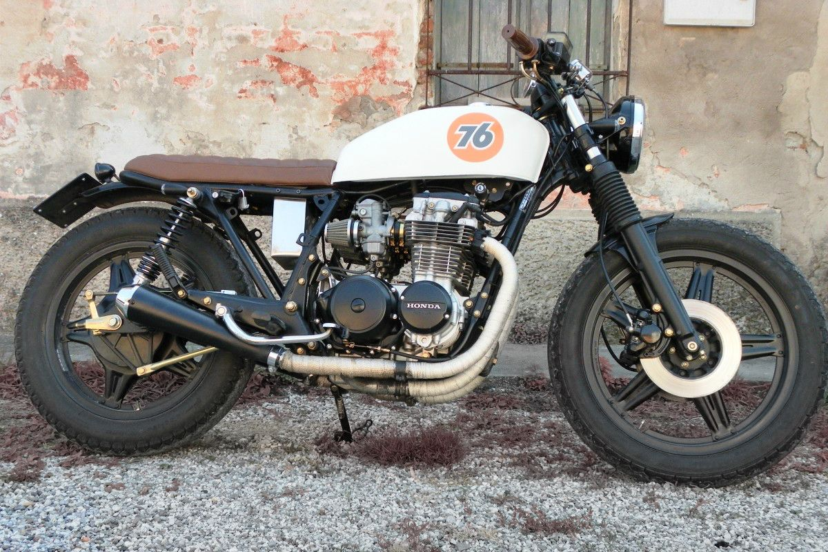 Inazuma Cafe Racer Readers Rides Cb650 By Garage Italiano Cb650 Cafe Racer Cafe Racer Design [ 800 x 1200 Pixel ]