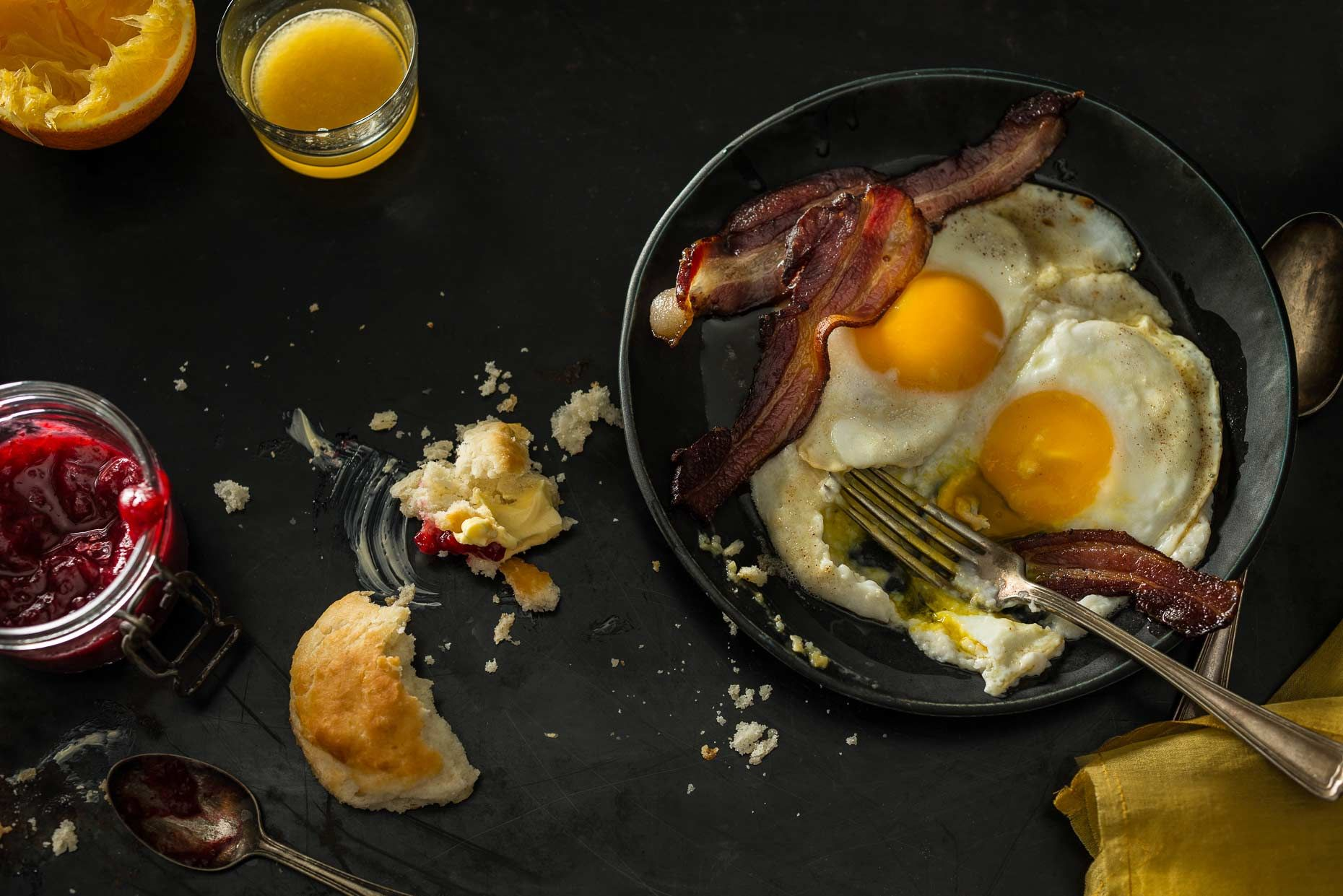 Francesco tonelli is a food photographer in new york his