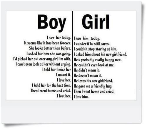 Boy and girl break up on We Heart It