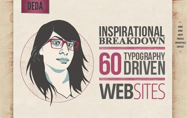 Here is a nice collection of 30 Best Typography Websites with demo and download links, being featured at QubeSys Blog.